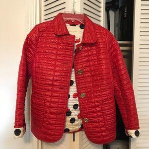 Kate Spade red jacket